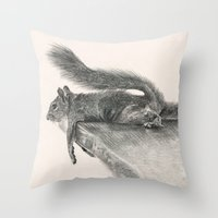 Monday Mood Throw Pillow