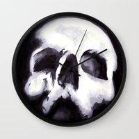 Bones II Wall Clock