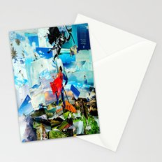 BAT VS. GOD Stationery Cards