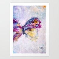 flutterby Art Print