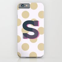 S is for Sweet iPhone 6 Slim Case
