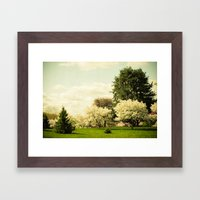 In a Land Far Away Framed Art Print