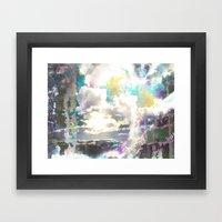 Prism Bubble Bursting Framed Art Print