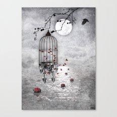 Le vent nous portera .... Canvas Print