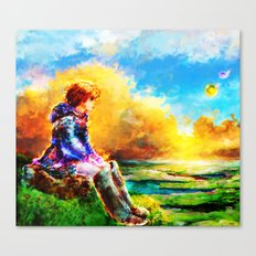 Nausicaa of the Valley of the Wind Canvas Print