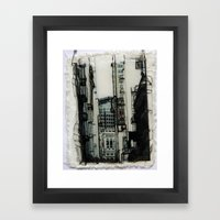 Slice Of San Francisco Framed Art Print