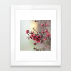 the way we get by Framed Art Print