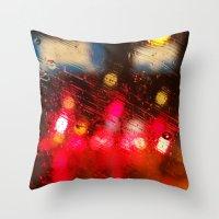 Rainy DayZ 38 Throw Pillow
