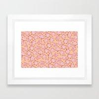 Wallflower - Coralette Framed Art Print