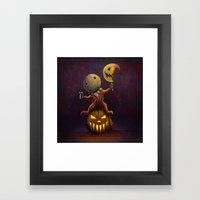 Trick 'r' Treat Framed Art Print