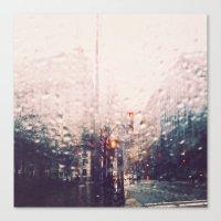 DC Rain Canvas Print