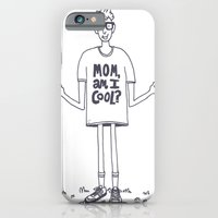 iPhone & iPod Case featuring Mom, Am I Cool? by Will Bryant