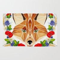 Spring Fox  Rug