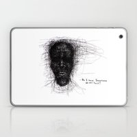 Scribble Face Laptop & iPad Skin