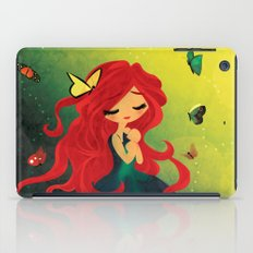 This Girl Only Sleeps with Butterflies iPad Case