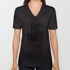 Love Thy Haters - Black Unisex V-Neck