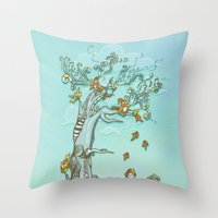 I Hear Music in Everything Throw Pillow