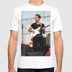 Albert Hammond Jr. - The Strokes SMALL White Mens Fitted Tee