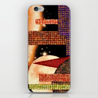 CITY BY MOON LIGHT - 001 iPhone & iPod Skin