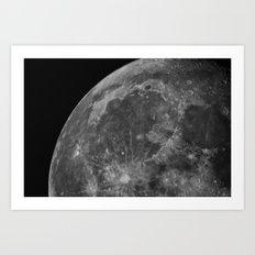 Moon 05 Art Print