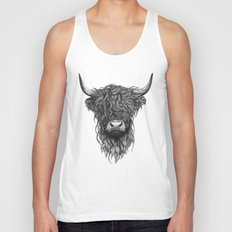 Highland Cattle Unisex Tank Top