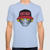 Creative Robot Mens Fitted Tee Athletic Blue SMALL