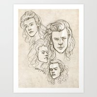 Harries Art Print