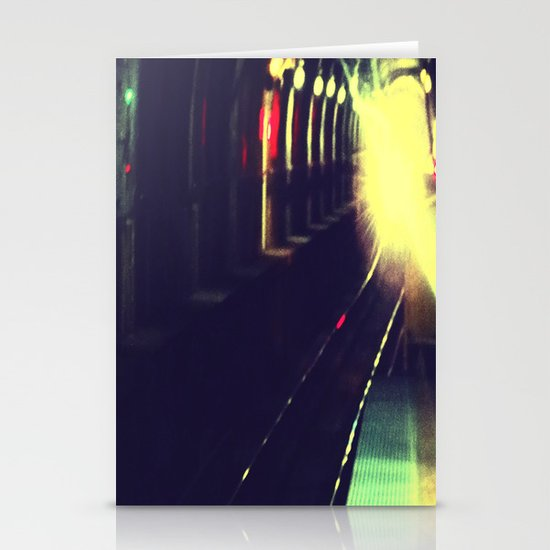 Do not walk into the light Stationery Card