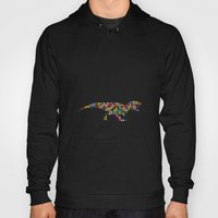 Trexture (colored dots) Hoody