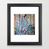RIP STRIPES Framed Art Print