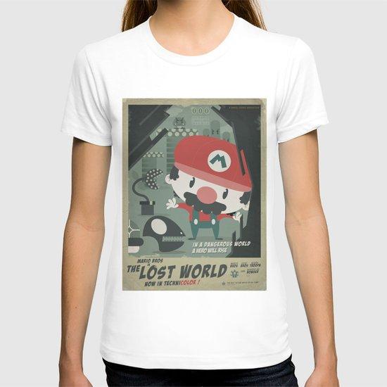 mario bros 4 fan art T-shirt