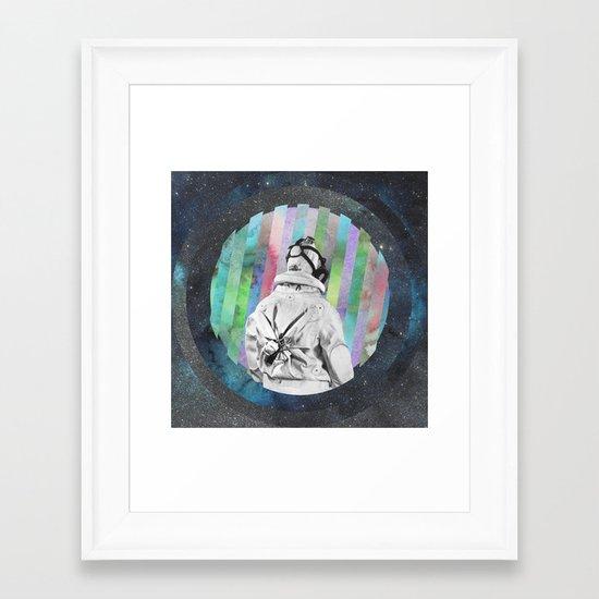 Space Finder Framed Art Print