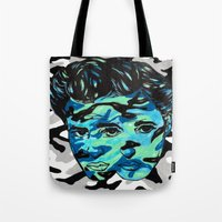 Marlon Brando: Double Vi… Tote Bag