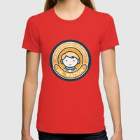 Cute John Watson - Orang… Womens Fitted Tee Red SMALL
