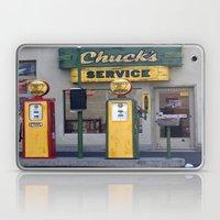 Old Service Station Laptop & iPad Skin