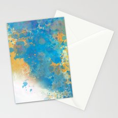 Blue Invasion  Stationery Cards