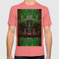 Kaleidoscope Mens Fitted Tee Pomegranate SMALL