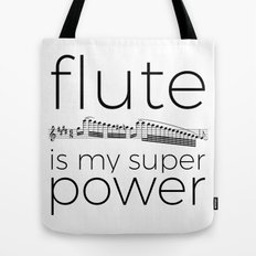 Flute is my super power Tote Bag