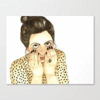 Fo Fo Leon Canvas Print