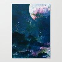 5pace 4bstarct Canvas Print