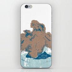 Surtseyan Volcanic Eruption iPhone & iPod Skin
