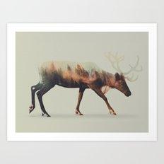 Norwegian Woods: The Rei… Art Print