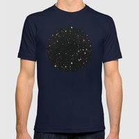 Space Mens Fitted Tee Navy SMALL
