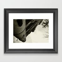 CASQUET WITH MY LOVER Framed Art Print