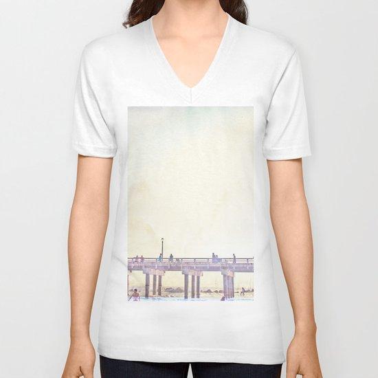 California Dreamin' in NY V-neck T-shirt