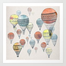 Voyages Art Print