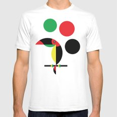 Tucan Mens Fitted Tee SMALL White
