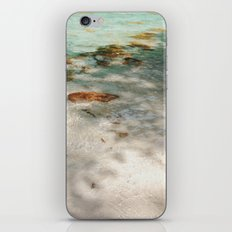 Sand and blue river iPhone & iPod Skin