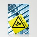 Danger of Death #3 | Press PLAY To Die Stationery Cards