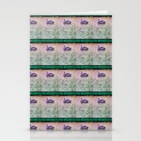 Pelican Pattern (b) Stationery Cards